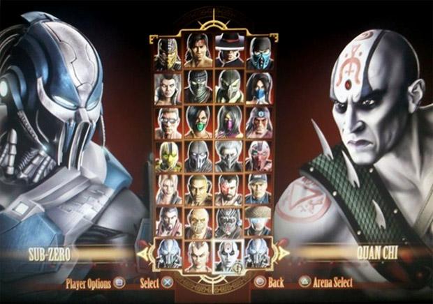 Roster Mortal Kombat