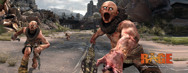 Video gameplay Rage