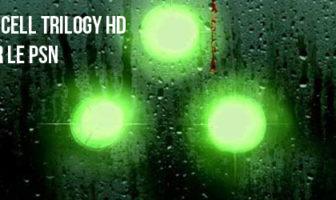 Splinter Cell Trilogy HD dispo sur le PSN