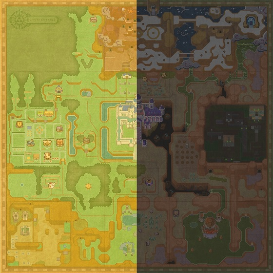 zelda_a_link_between_worlds_map