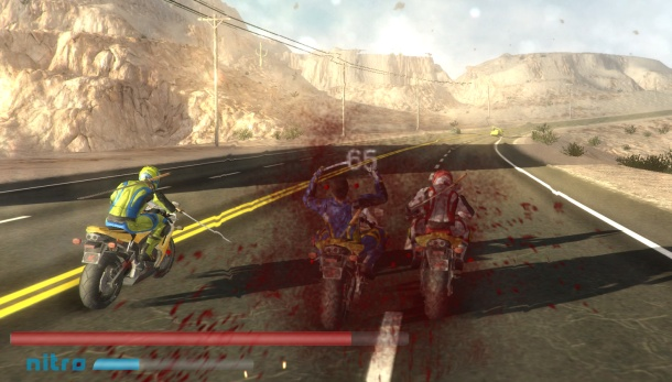 Road Redemption baston