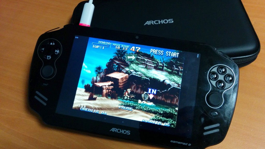 Archos gamepad 2 metal slug