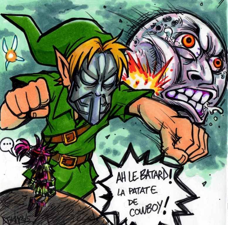 IN GAME GAMERSIDE ZELDA MAJORAS MASK Djiguito