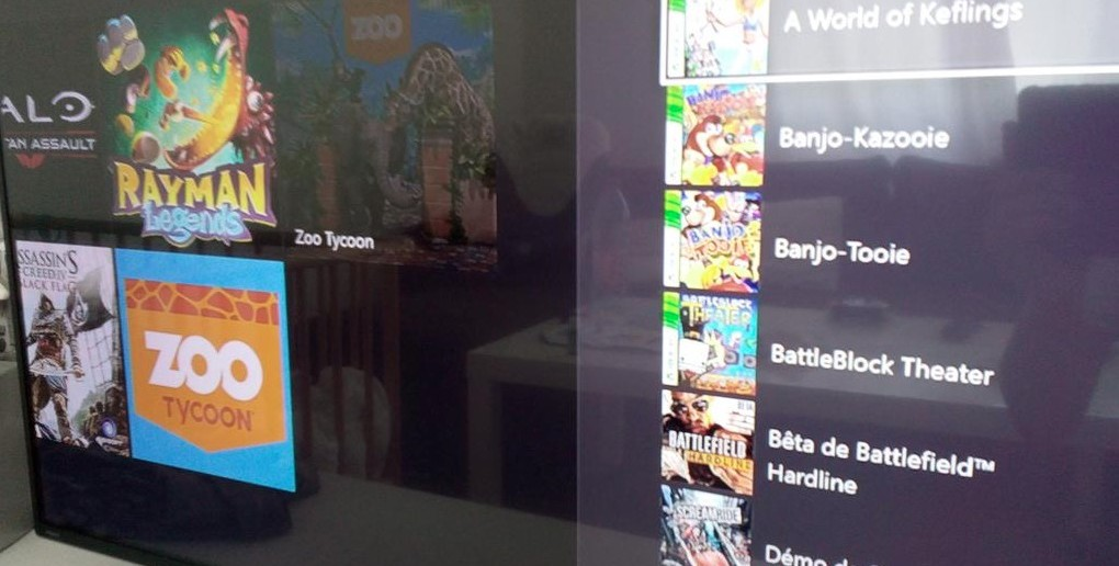 Xbox One rétrocompatibilté