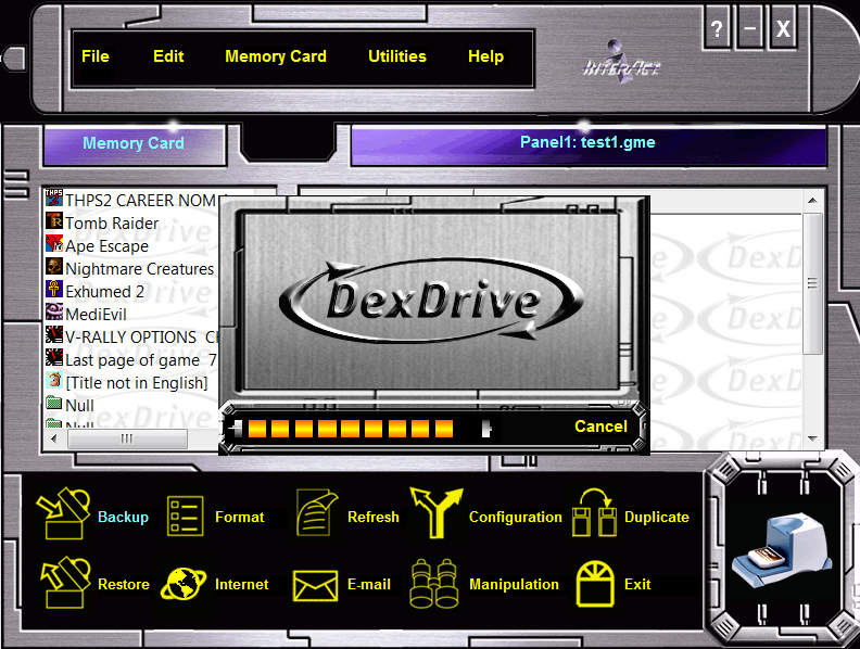 dexdrive interface 1