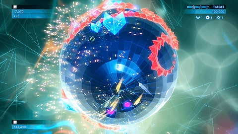 Geometry Wars 3 Dimensions Vita