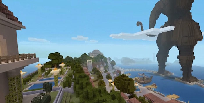 Minecraft Mushup Grèce Mythologie Xbox One