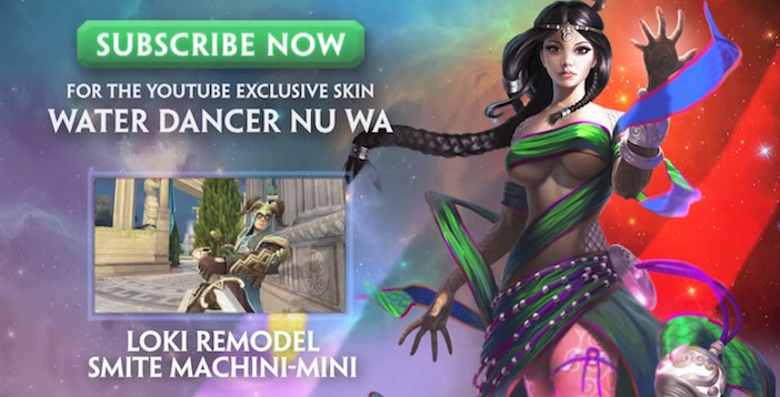 Smite Water Dancer Nu Wa Xbox One PC