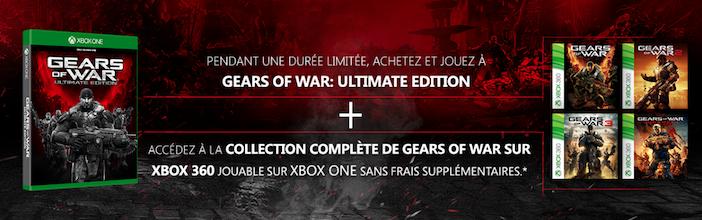Offre 2 Xbox One rétrocompatibilté