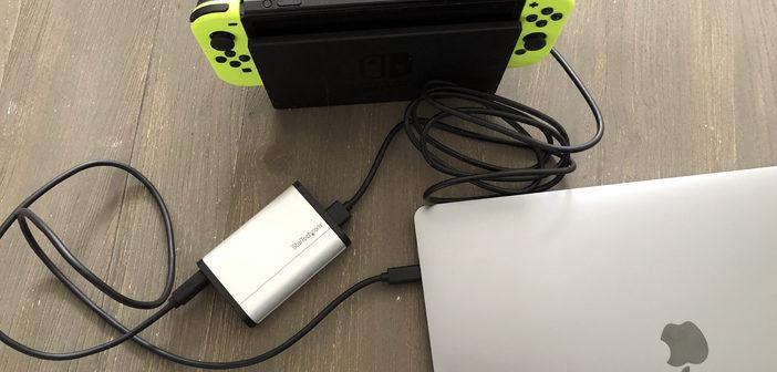 La capture vidéo avec le USB-C Capture Device for HDMI de Startech